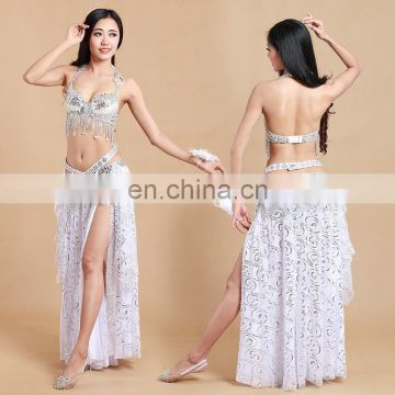 GT-1015 Hongkong hot sale performance belly dance costumes for women
