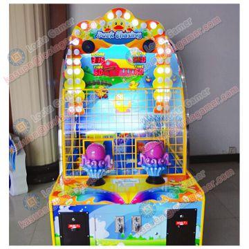 Zhongshan Locta amusement redemption equipment, water shooting game machine, 2P Duckling for kids, coin operated