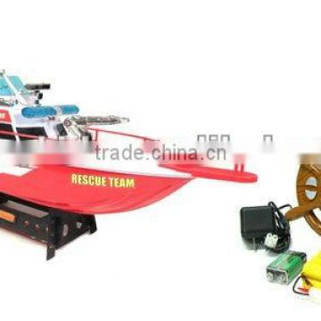 RC Fire Emergency Rescue Boat RC Rescue Boat