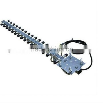 tv remote controlled rotating antenna uhf vhf outdoor tv antenna with booster-J883