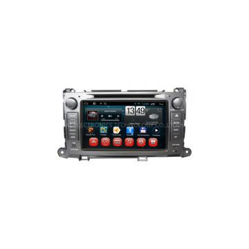 Wholesale Best Toyota Sienna In Dash Car Radio Dvd Player with GPS Bluetooth Ipod 8inch Capacitive Panel