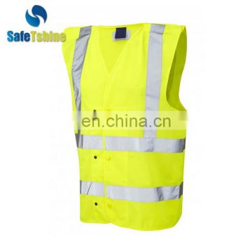 Printed hi vis vests safety vest reflective vest