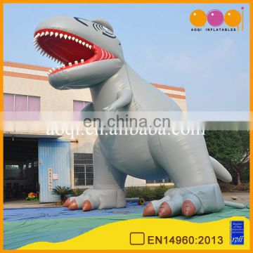 AOQI advertising promotion giant inflatable dinosaur model for advertising decoration
