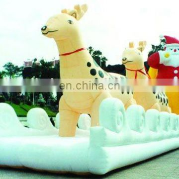 unique Christmas inflatable game