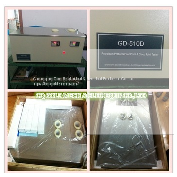 GD-510D ASTM D2500 Cloud Point Analyzer&ASTM D97 Pour Point Analyzer