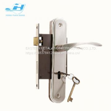 Europ door lock 716 series lock body security door lock with keys