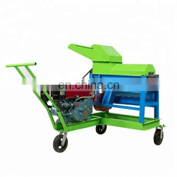 Maize sheller cum husk remover / corn shelling and peeling machine / corn thresher machines for sale