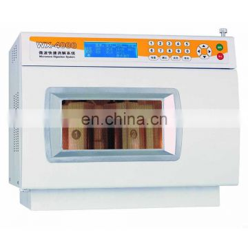 WX-6000 temperature controlling pressure closed microwave digestion system