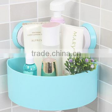 Shampoo Corner Bathroom Rack With Suction Cup Triangle Shelves