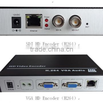 RTSP RTMP/UDP SDI IPTV HD 1080P H.264 H.265 HEVC Encoder to IP Audio Video IPTV Streaming Encoder