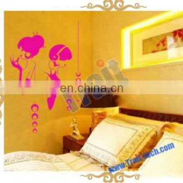 Removable PVC Decals Living Room Bedroom DIY Wall Stickers