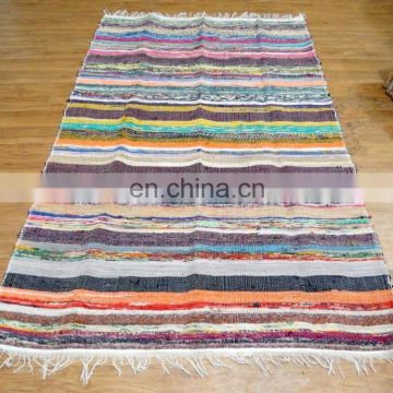 Hand Woven Cotton Chindi Rug Runner Dari Cotton Handmade