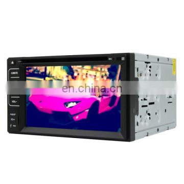 Universal 6.2 inch Windows CE 6.0 TFT Screen In-Dash Car DVD Player with GPS / RDS / DVB-T