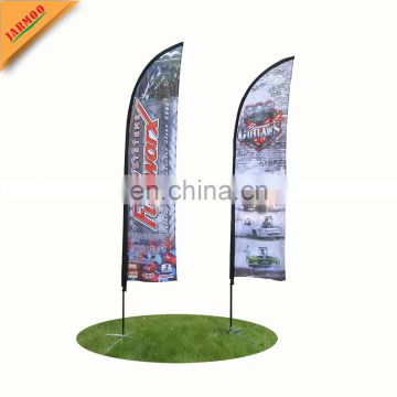 cheap advertising knife flag with base