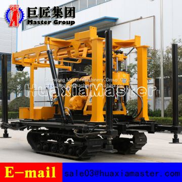 XYD-200 hydraulic press crawler deep water well drilling rig  for sale
