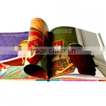 China supplier custom size A3 cheap hardcover book printing