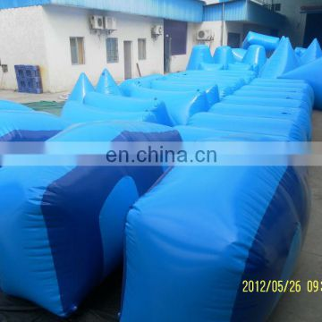 Inflatable paintball bunker inflatable paintball target goal for sale