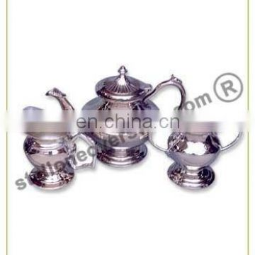 ALUMINIUM TEA SET