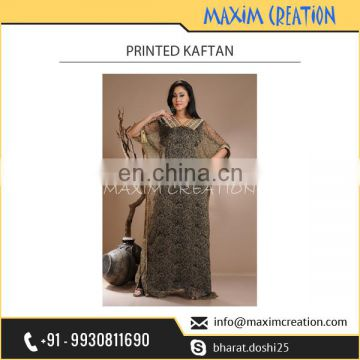 Well Known Company Exporting Printed Kaftan at Really Economical Rate