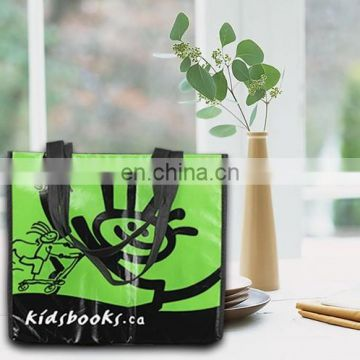 Eco green PP woven promotional bag,folding shopping bags