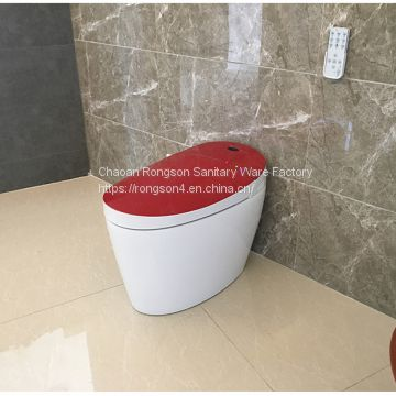 Miraculous China Manufacturer Smart Toilet Automatic Flush Toilet With Uwap Interior Chair Design Uwaporg