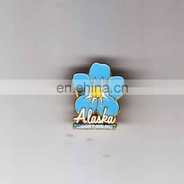 Factory promotional gift custom metal pin badge holder