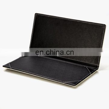 Excellent Handcraft New Design Leather Bill Folder Promotional Bill Cover