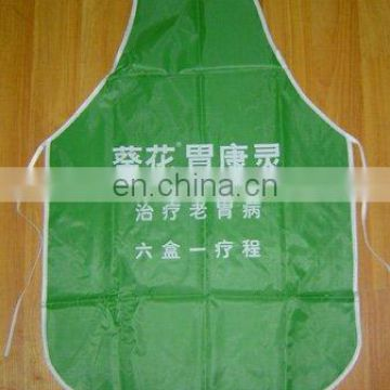 recyclable material promo kitchen apron