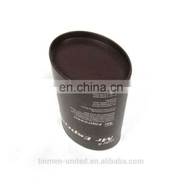 Factory wholesale oval empty coffee packaging tin can