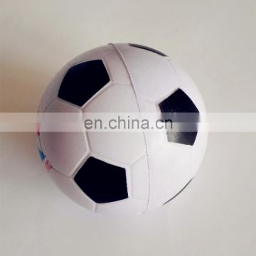 hot sale promotion PU bouncy ball stress PU football toy and gift