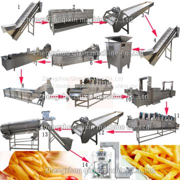Frozen fries machine india hot selling Frozen french fries production