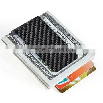 cool mini carbon fiber money clip holder