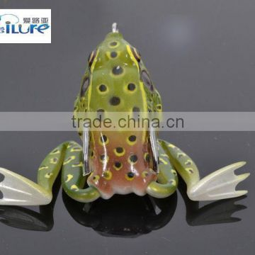 Wholesale Simulation Of Frog Lure Rubber Fishing Lure