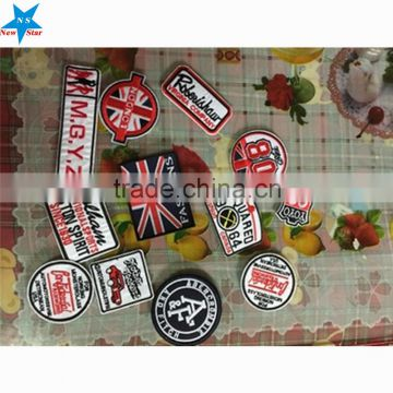 Cheap Embroidered Patches Design With Embroidery Logo Biker Patches