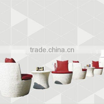 outdoor rattan furntiure folding chair or rattan leisure chair