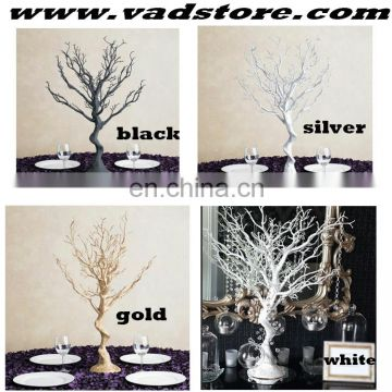 black plastic tree love beauty black tree table centerpiece wedding