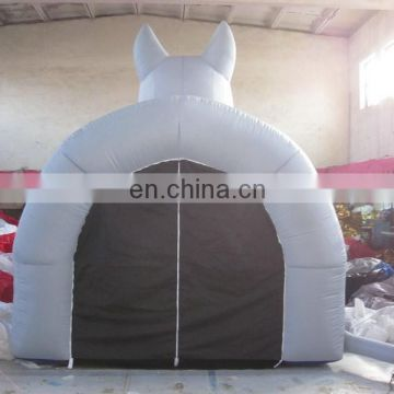 customized inflatable football tunnel,inflatable mascot tunnels of dog