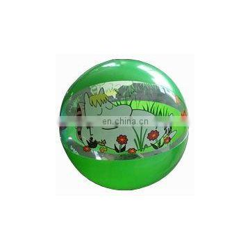 PVC Inflatable water beach ball with self printing