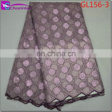 High quality african lace fabric GL156