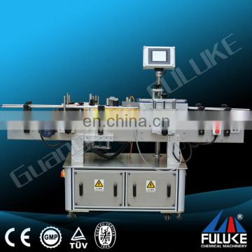 Fuluke High Speed Single Side Labeling Machine/ Automatic Single Side Bottle Labeling Machine