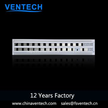 HPVC ventilation aluminum linear slot air diffuser