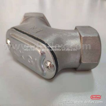 Driflex conduit body connection box EMT conduit junction box