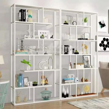 Stainless steel bookshelves