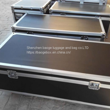 Black/pink/white Flight Case  Custom Logo Hard Aluminiumflight Case