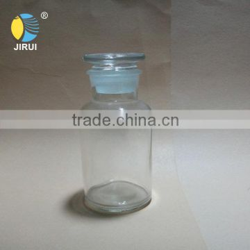 250ml wide open reagent glass jar with lid of Reagent