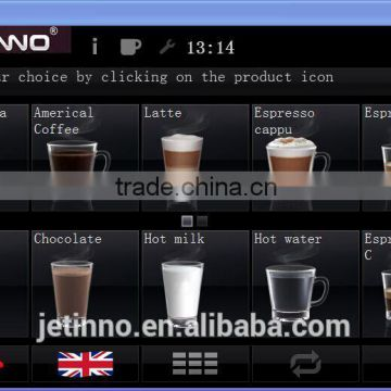 FS170-BTCFB4C bean to cup fresh brewing coffee vending machine foot standing coffee milk chocolate machine