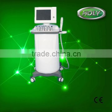 Back Tightening Profession Hifu Machine High Frequency Beauty Machine With Trolley Expression Lines Removal