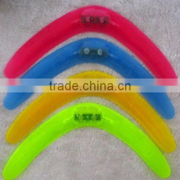 Manufacture wholesale;Light up boomerang; Colorful; outdoor toys for children