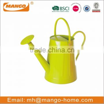 Copper Handle Copper Spout Round Galvanized Watering Can