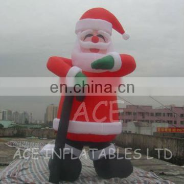 2013 christmas inflatables,inflatable santa claus